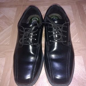 Nunn Bush Kore men's black leather shoes size 11